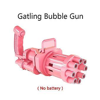 Bublina fúkanie hračky guma stroj hračky pre deti plastové guľomet