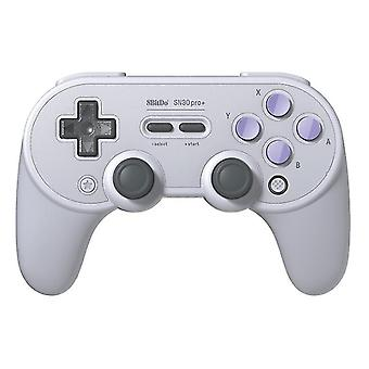 Gamepad wireless game controller for SN30 PRO+(White)
