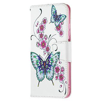Xiaomi Redmi Note 10 5g Case Pattern Magnetic Protective Cover Butterfly Floral