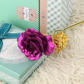 Goldfolie vergoldet Rose kreative Geschenke hält für immer Rose für Liebhaber Hochzeit
