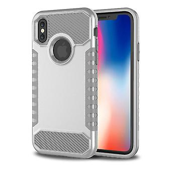 Spot supply iphone x mobile phone shell iphone x mobile phone protection shell double one anti fall foreign trade mobile phone