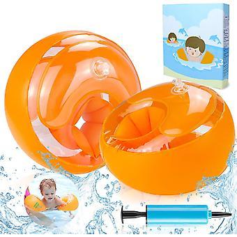 Schwimmflügel Kinder, Schwimmhilfe für Anfänger, Swimsafe Gerät, Schwimmreifen Armumfang 21-23cm,