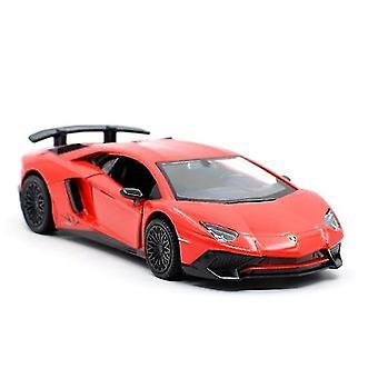 רכב מתכת למבורגיני למשוך בחזרה מכוניות מודל