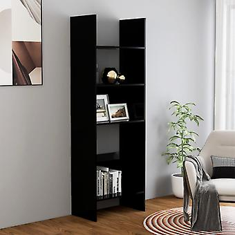 vidaXL bibliothèque noir 60x35x180 cm panneau de particules