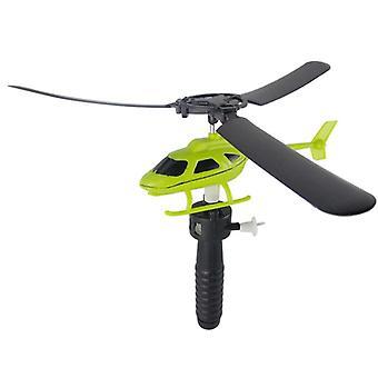 Luchtvaart model trekken draden helikopters vliegen vrijheid drawstring mini vliegtuig buiten