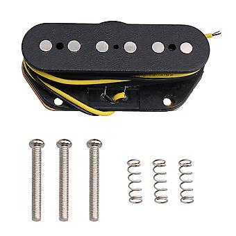 الغيتار الكهربائي بيك آب الأسود لفائف واحدة الكهربائية الغيتار بيك اب