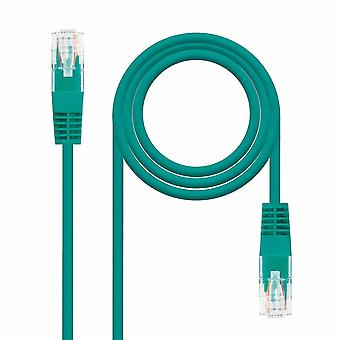 Network cables nanocable 10.20.0401 - Rj45 cat.6 Utp awg24 network connecting cable green