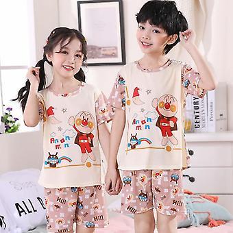 Children Pajamas Set, Cartoon Casual Clothing