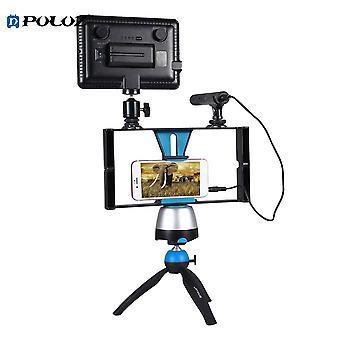 Support de caméra vidéo portable Puluz Pu3007 pour la prise de vue vidéo sur téléphone portable