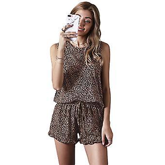 Tie-Dye Pyjamas Frauen 2021 neue ärmellose Damen Home Suit Zweiteiler