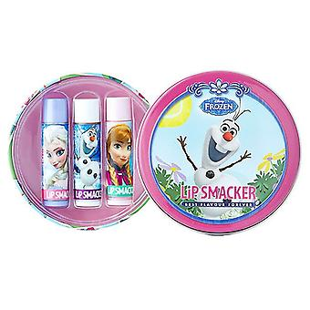 Lip Smacker Disney Frozen Round Tin- Olaf in Summer 3 pcs