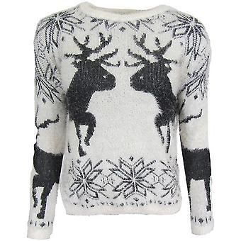 Camisola de inverno fofo do veado