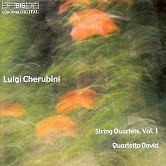 L. Cherubini - Luigi Cherubini: quatuors à cordes, importation USA Vol. 1 [CD]