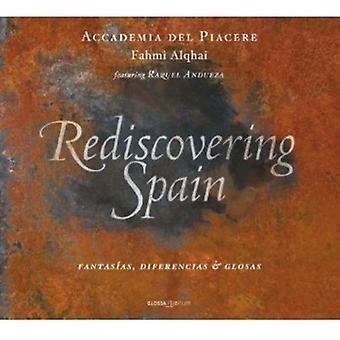 Andueza/Alqhai/Accademia Del Piacere - Rediscovering Spain: Fantas as, Diferencias & Glosas [CD] USA import