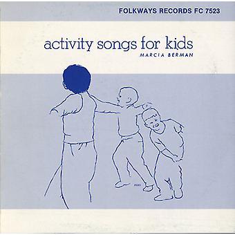 Marcia Berman - actividad canciones para niños [CD] USA importar
