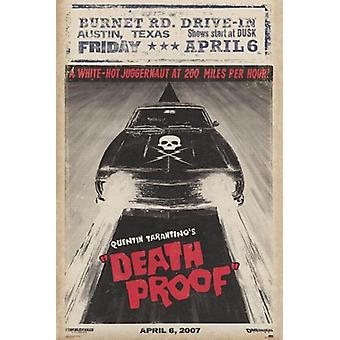Grindhouse - Death Proof - Car Poster Poster Print