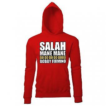 Salah Mane Mane Liverpool con capucha (roja)