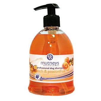 Mutneys Peach & Passionfruit General Purpose Dog Grooming Shampoo, 5L