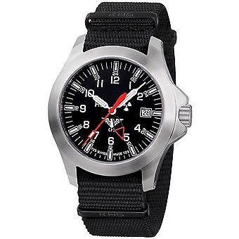 KHS zegarki męskie zegarek GMT LDR KHS plutonu. PGLDR.NB