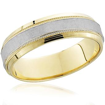 Martellato Wedding Band 14k oro