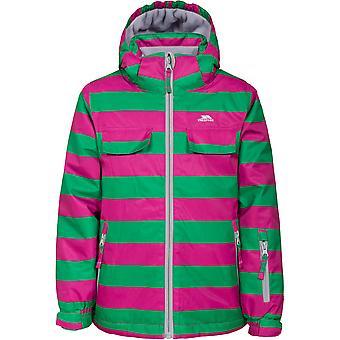 Tunkeutuminen tytöt kirjava vedenpitävä tuulenpitävä pehmustettu Ski takki