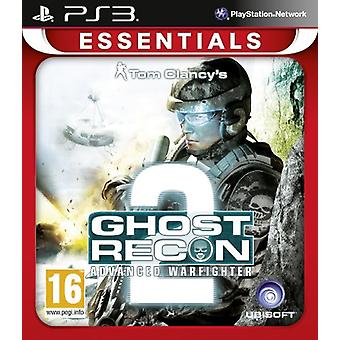 Ghost Recon Advanced Warfighter 2 PlayStation 3 Essentials (PS3) - Usine scellée