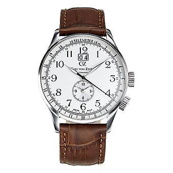 Carl of Zeyten men's watch wristwatch quartz Etterlin CVZ0006SL