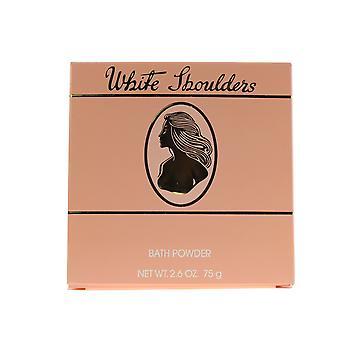 Valkoinen hartiat Kylpyamme Powder 2.5 oz/75 g uusi laatikko