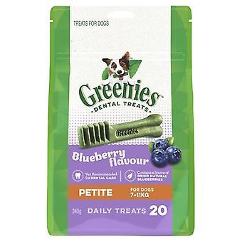 GREENIES Petite BLUEBERRY Pack 340gm
