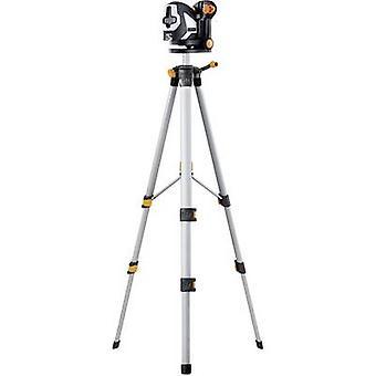 Laserliner SuperCross-Laser 2P RX Set 150 Cross line laser Self-levelling, Incl. tripod Range (max.): 20 m