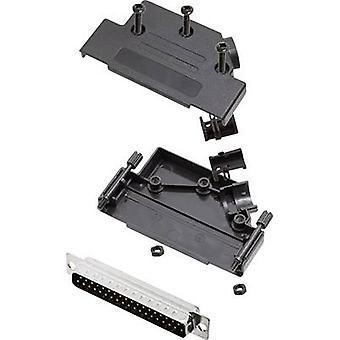 encitech D45PK-P-37-DMP-K 6355-0035-04 D-SUB PIN strip set 45 ° aantal pinnen: 37 soldeer emmer 1 set