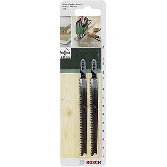 Bosch Accessoires 2609256727 Decoupeerzaagblad HCS, T 234 X 2 st(en)
