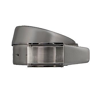 BERND GÖTZ leather belts men's belts leather belt grey 3211