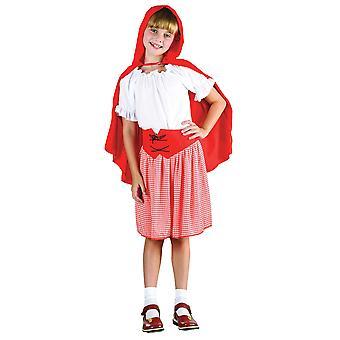 Bnov Red ridning Hood kostym