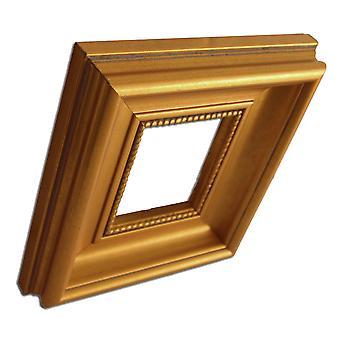 8x10 cm, Gold frame