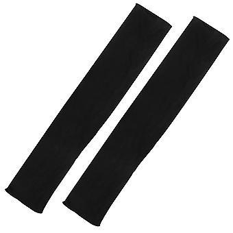 TRIXES moda Womens Long sleeve guanti neri senza dita stile Opera retrò