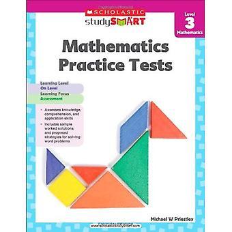 Skolastiska studie Smart matematik praktiken tester nivå 3