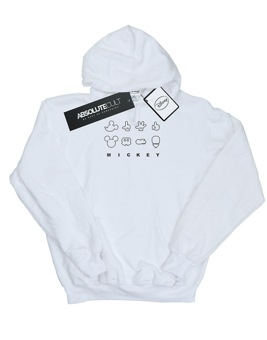Disney Boys Mickey Mouse Deconstructed Hoodie