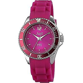 Just Watches 48-S3861-DPR - Women's wristwatch, caucci strap? violet color