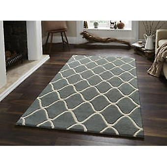 Elements EL65 Blue  Rectangle Rugs Plain/Nearly Plain Rugs