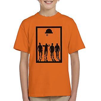 A Clockwork Orange Frame Movie Silhouette Kid's T-Shirt