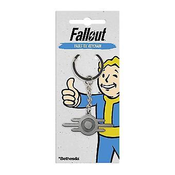 Fallout Vault-Tec kovový Kľúčenka