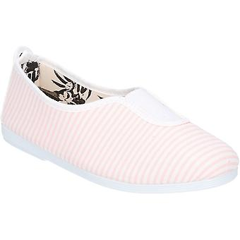 Flossy Girls Junior Rayuela Slip On Casual Summer Pump Shoes
