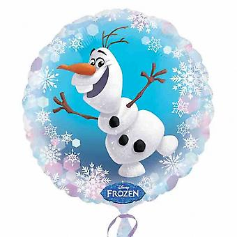 Anagramma Disney congelati Olaf 18 pollici circolare Palloncino foil