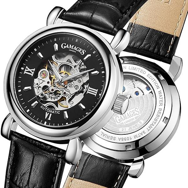 Gamages Of London Limited Edition Hand Assembled Skeleton Automatic Steel