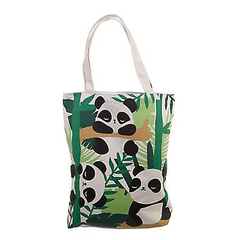 Puckator Pandarama Cotton Bag