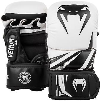 Venum チャレンジャー 3.0 総合格闘技スパーリング グローブ ホワイト/ブラック
