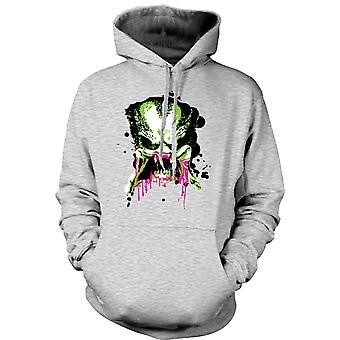 Kinder Hoodie - Predator Alien - Pop Art - Face - Film