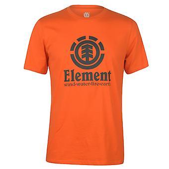 Element Herren vertikale Kurzarm T Shirt T-Shirt T-Shirt Top