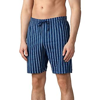 Mey Men 20950 Herren Lounge gestreift ecotton Pyjama Pyjama Short